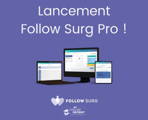 lancement follow surg pro